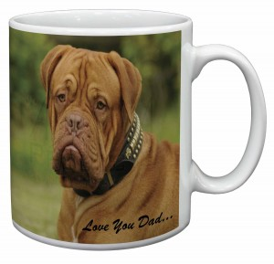 Mug / Tasse avec motif Dogue de Bordeaux