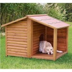 Niche de chien en bois Dogue de Bordeaux